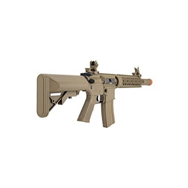 Lancer Tactical Airsoft Rifle 4 Lancer Tactical M4 Gen 2 AEG Electric Airsoft Rifle Gun - Tan