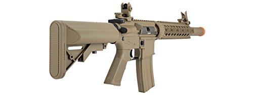 Lancer Tactical  4 Lancer Tactical M4 Gen 2 AEG Electric Airsoft Rifle Gun - Tan
