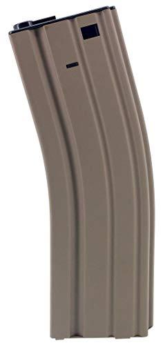 SportPro  1 SportPro Jing Gong 450 Round Metal High Capacity Magazine for AEG M4 M16 Airsoft Tan