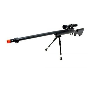 Well Airsoft Rifle 1 510 fps wellfire vsr-10 urban combat full metal bolt action sniper rifle w/ 3-9x40 scope & bipod package(Airsoft Gun)