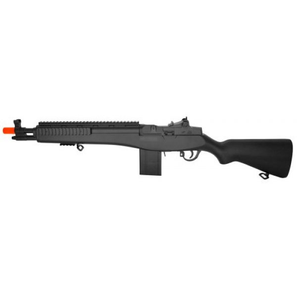 Double Eagle Airsoft Rifle 1 Powerful! Metal and abs Plastic Spring Powered m14 Assault Sniper Rifle fps-300 Airsoft Gun (Airsoft Gun)