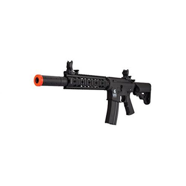 Lancer Tactical Airsoft Rifle 3 Lancer Tactical Low FPS M4 Gen 2 AEG Electric Airsoft Rifle Gun - Black