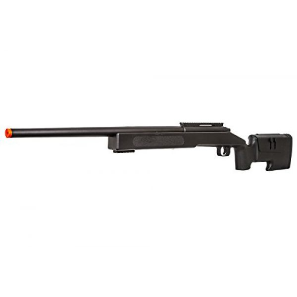 ASG Airsoft Rifle 3 ASG McMillian Sportline M40A3 Bolt Action Spring Sniper Airsoft Rifle (Black)