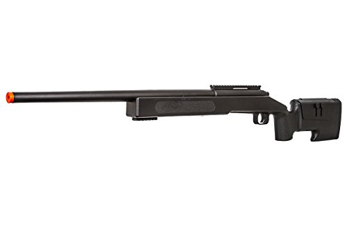 ASG  3 ASG McMillian Sportline M40A3 Bolt Action Spring Sniper Airsoft Rifle (Black)