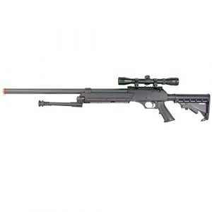 BBTac Airsoft Rifle 1 BBTac Powerful And Precision Spring Airsoft Sniper Rifle Gun