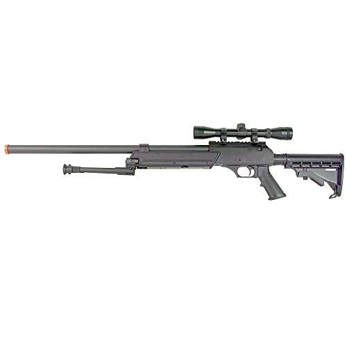 BBTac Airsoft Rifle 1 BBTac Powerful And Precision Spring Airsoft Sniper Rifle Gun