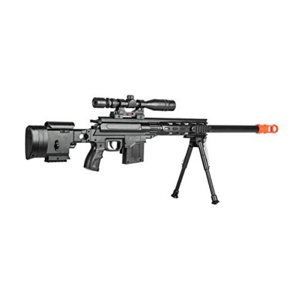 UKARMS Airsoft Rifle 4 UKARMS Top Marksman Sniper Spring Airsoft Rifle Gun FPS 225 w/Bipod