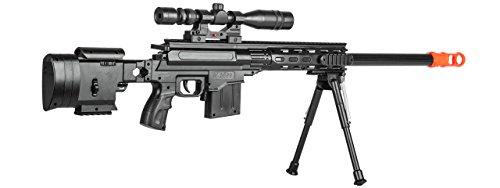 UKARMS  4 UKARMS Top Marksman Sniper Spring Airsoft Rifle Gun FPS 225 w/Bipod