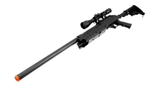 CYMA Airsoft Rifle 1 460 fps cyma aps sr-2 modular full metal bolt action sniper rifle w/ scope pkg(Airsoft Gun)