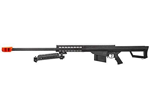 Lancer Tactical  4 Lancer Tactical M82 Polymer Spring Sniper Rifle w/Bipod Airsoft Gun