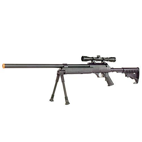 BBTac Airsoft Rifle 2 BBTac Powerful And Precision Spring Airsoft Sniper Rifle Gun