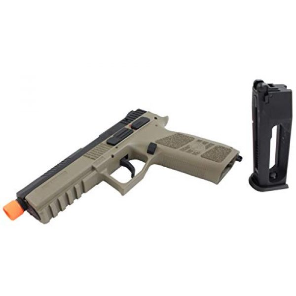 ASG Airsoft Pistol 6 ASG CZ P-09 Gas Powered Airsoft Pistol with Outer Barrel Threading