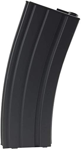SportPro Airsoft Magazine 1 SportPro 140 Round Metal Medium Capacity Magazine for AEG M4 M16 Airsoft Black