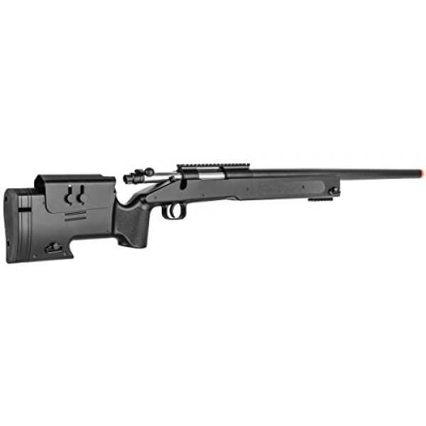 Double Eagle Airsoft Rifle 4 Double Eagle Field Marksman Bolt Action Spring Airsoft Sniper Rifle Gun FPS 480