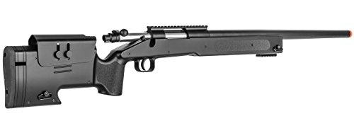 Double Eagle  4 Double Eagle Field Marksman Bolt Action Spring Airsoft Sniper Rifle Gun FPS 480