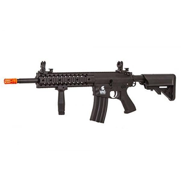 Lancer Tactical Airsoft Rifle 1 Lancer Tactical LT-12B-G2 Gen 2 RIS M4 Carbine AEG Airsoft Rifle (Black)