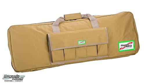 """Hogan's Alley Paintball Airsoft Gun Case 1 Hogan's Alley 36"""" Single Gun Bag for Airsoft AEGs and Paintball Guns - Tan"""