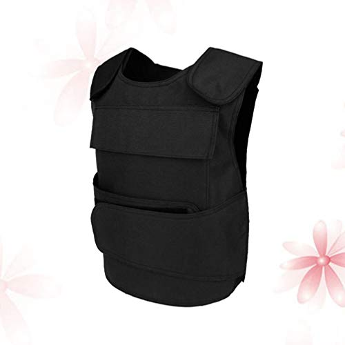 BESPORTBLE Airsoft Tactical Vest 7 BESPORTBLE Tactical Paintball Vest Army Airsoft Adjustable Vest Assurance Bullet Supplement Vest for Cosplay Combat War Game