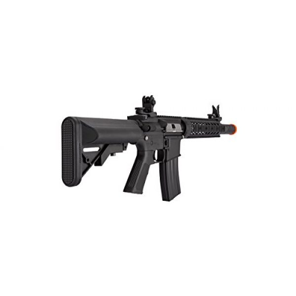 Lancer Tactical Airsoft Rifle 4 Lancer Tactical Low FPS M4 Gen 2 AEG Electric Airsoft Rifle Gun - Black
