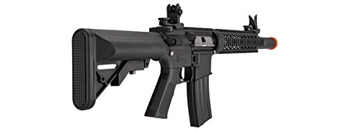 Lancer Tactical  4 Lancer Tactical Low FPS M4 Gen 2 AEG Electric Airsoft Rifle Gun - Black