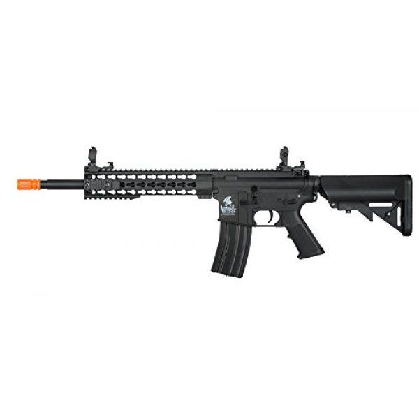 "Lancer Tactical Airsoft Rifle 1 Lancer Tactical G2 Airsoft LT-19B M4 Carbine 10"" AEG Rifle - BLACK"