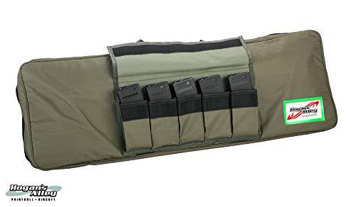 """Hogan's Alley Paintball Airsoft Gun Case 4 Hogan's Alley 36"""" Single Gun Bag for Airsoft AEGs and Paintball Guns - Tan"""