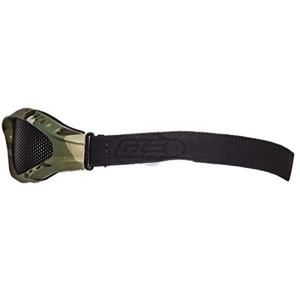 Lancer Tactical Airsoft Goggle 3 Lancer Tactical Emerson Low Profile Full Seal Mesh Goggles (Camo)