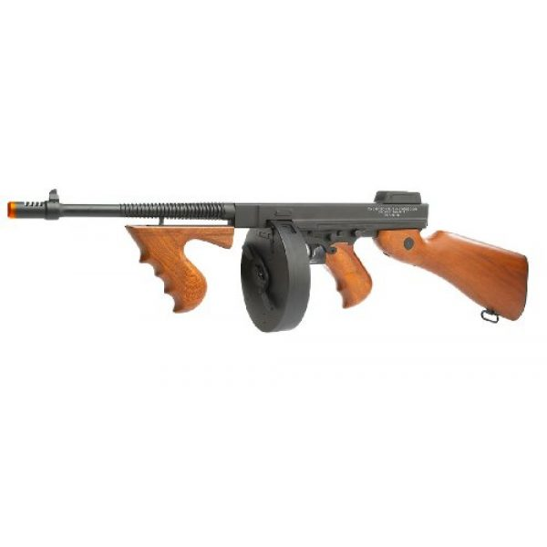 Thompson Airsoft Rifle 1 Soft Air Thompson 1928 Electric Powered Airsoft Gun with Adjustable Hop-Up, 400-450 FPS