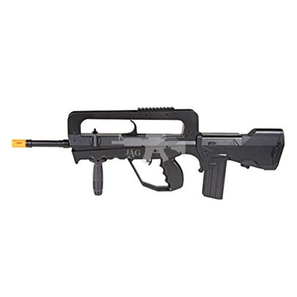 Double Eagle Airsoft Rifle 2 Double Eagle A&N Tactical M46A1 Powerful Spring Airsoft Gun Assault Rifle FAMAS Styled and 2000 BBS