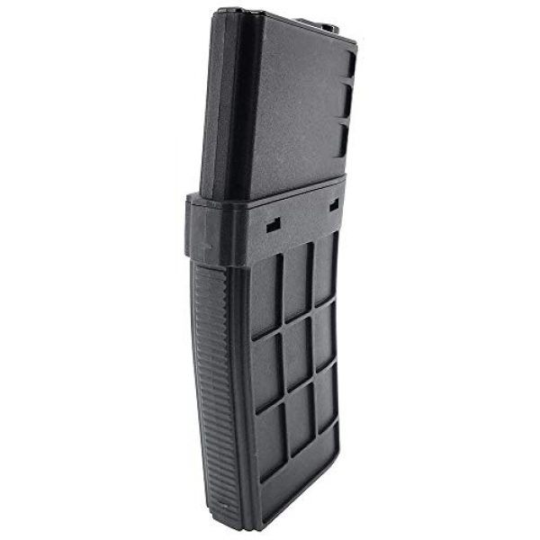 SportPro Airsoft Gun Magazine 4 SportPro CYMA 450 Round Polymer Thermold Waffle High Capacity Magazine for AEG M4 M16 Airsoft - Black