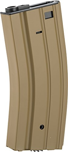 Evike Airsoft Magazine 1 Evike - Full Metal 300 Round Hi-Cap Magazine for M4 M16 L85 Scar Series Airsoft AEG - Dark Earth