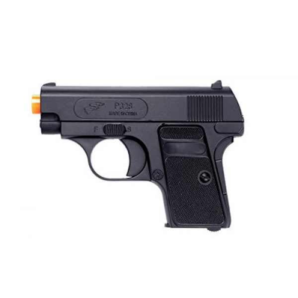 Double Eagle Airsoft Pistol 2 Double Eagle 2 x A&N P328 Compact Spring Airsoft Pistol Hand Gun with 6mm BBS BB Black Great Pistol for Entry Level Airsoft Players