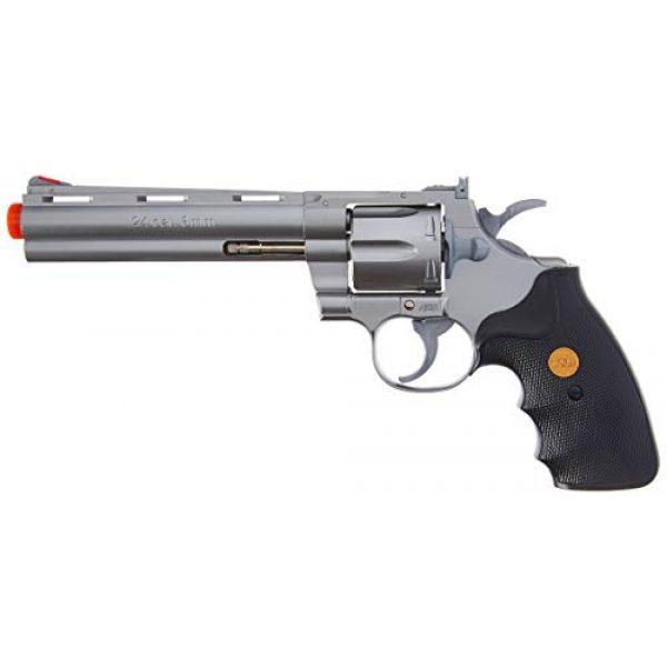 TSD Airsoft Pistol 1 TSD Sports UA938S 6 Inch Spring Powered Airsoft Revolver (Silver)