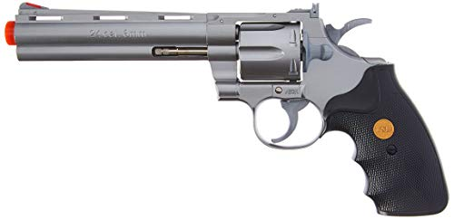 TSD Airsoft Pistol 1 TSD Sports UA938S 6 Inch Spring Powered Airsoft Revolver (Silver)