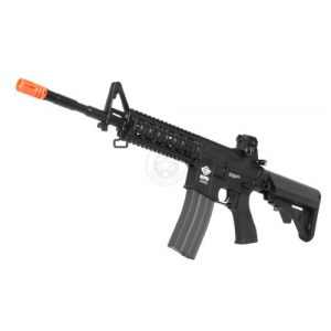 G&G Airsoft Rifle 1 G&G airsoft combat machine m4 raider high-performance full metal gearbox aeg rifle w/ integrated ras and crane stock(Airsoft Gun)