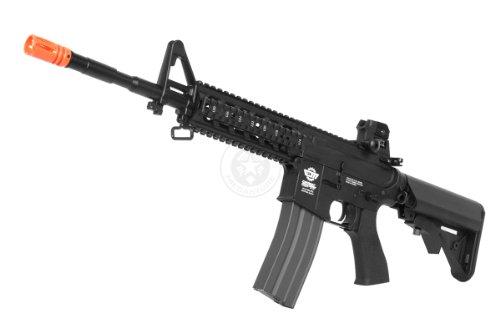 G&G  1 G&G airsoft combat machine m4 raider high-performance full metal gearbox aeg rifle w/ integrated ras and crane stock(Airsoft Gun)