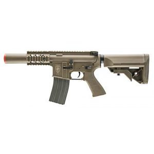 Elite Force Airsoft Rifle 1 Elite Force M4 AEG Automatic 6mm BB Rifle Airsoft Gun, CQC, FDE
