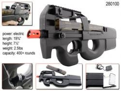 AEG  1 belgium p-90 automatic airsoft gun(Airsoft Gun)