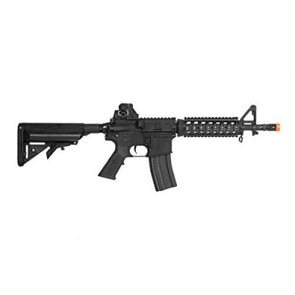 Colt Airsoft Rifle 2 Soft Air COLT M4 CQB Automatic Electric Airsoft Gun, Black