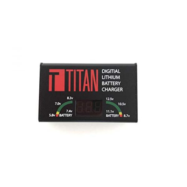 TITAN Airsoft Battery Charger 1 TITAN Digital Charger Lithium Ion Airsoft