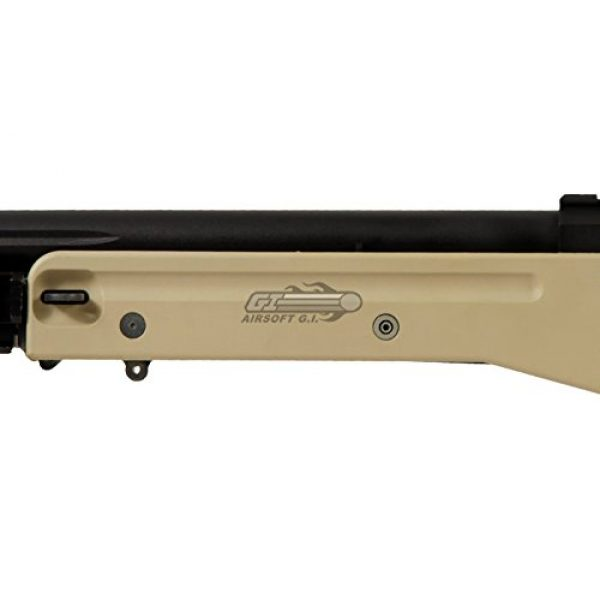 Well Airsoft Rifle 7 Well Full Metal MB08 Bolt Action Sniper Rifle (Tan/Scope Package)