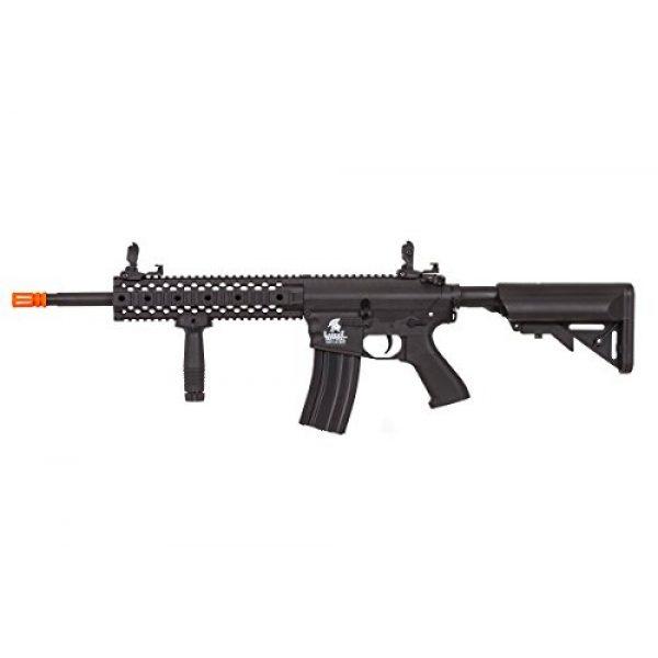 Lancer Tactical Airsoft Rifle 2 Lancer Tactical LT-12B-G2 Gen 2 RIS M4 Carbine AEG Airsoft Rifle (Black)