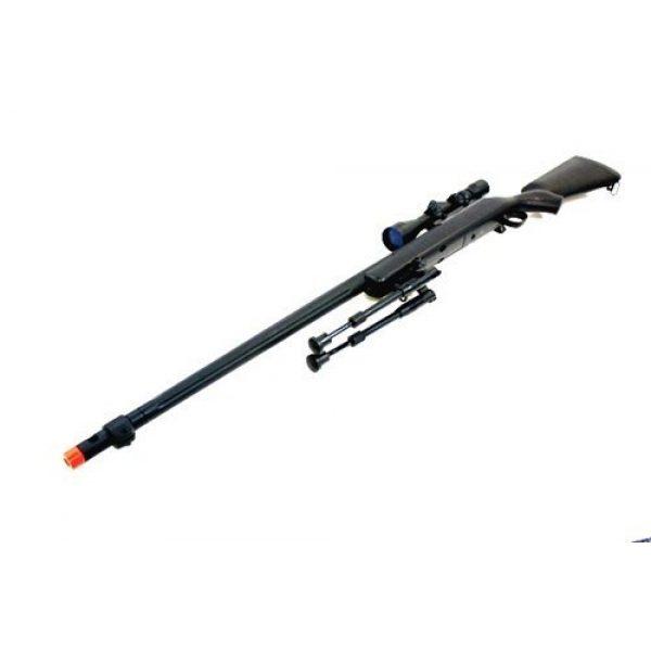 Well Airsoft Rifle 3 510 fps wellfire vsr-10 urban combat full metal bolt action sniper rifle w/ 3-9x40 scope & bipod package(Airsoft Gun)