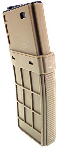 SportPro  3 SportPro CYMA 450 Round Polymer Thermold Waffle High Capacity Magazine for AEG M4 M16 Airsoft - Tan