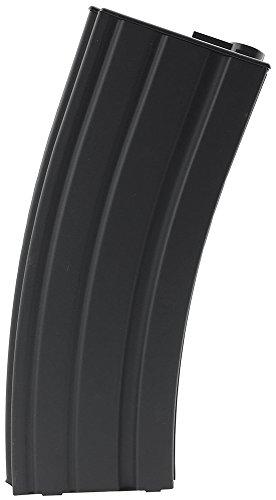 SportPro Airsoft Magazine 1 SportPro 190 Round Metal Medium Capacity Magazine for AEG M4 M16 Airsoft Black