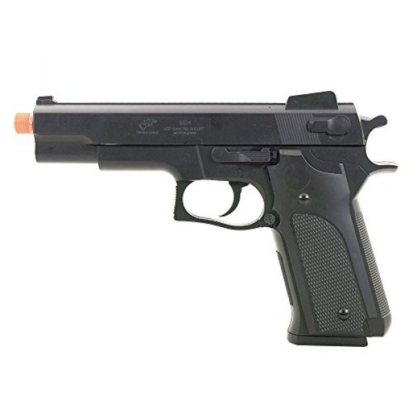 BBTac Airsoft Pistol 6 BBTac M24 Airsoft 300 Fps Spring Pistol Airsoft Gun with Detachable Clip