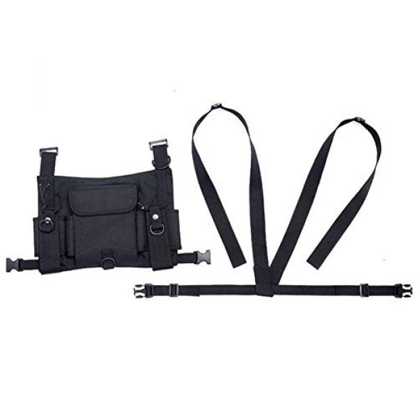 Shefure Airsoft Tactical Vest 6 Shefure Tactical Vest Airsoft Ammo Chest Bag for Men AK 47 Magazine Pouch Carrier Vest Combat Tactical Hunting Gear Military Equipment