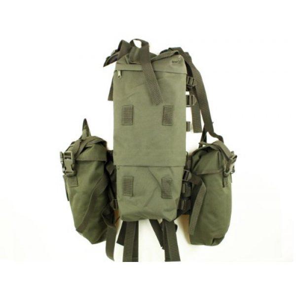 Mil-Tec Airsoft Tactical Vest 3 Mil-Tec Men's Tactical South African Assault Combat Cargo Army Vest Airsoft