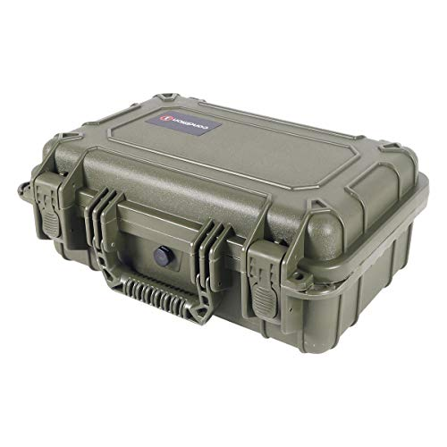 "Condition 1 Airsoft Gun Case 3 Condition 1 13"" Waterproof Protective Hard Case with Foam"