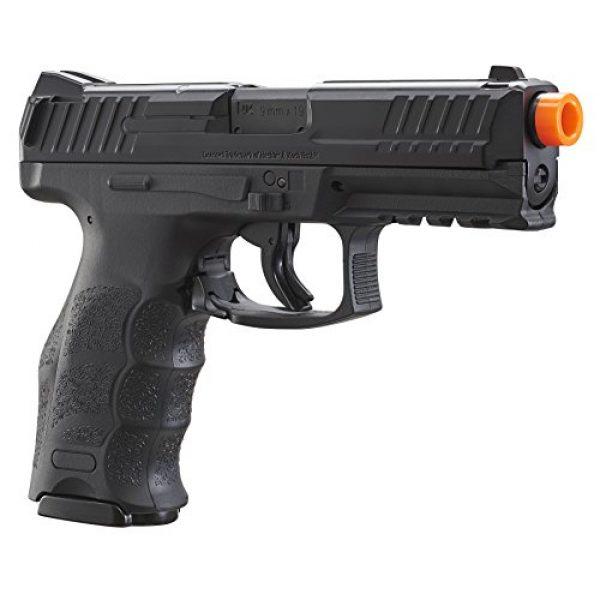 "Umarex USA Airsoft Pistol 4 Umarex USA, H&K VP9, 6mm, 3 1/2"" Smooth Barrel, 14 Rounds, Black"